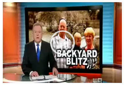 Backyard Blitz - Channel Nine News